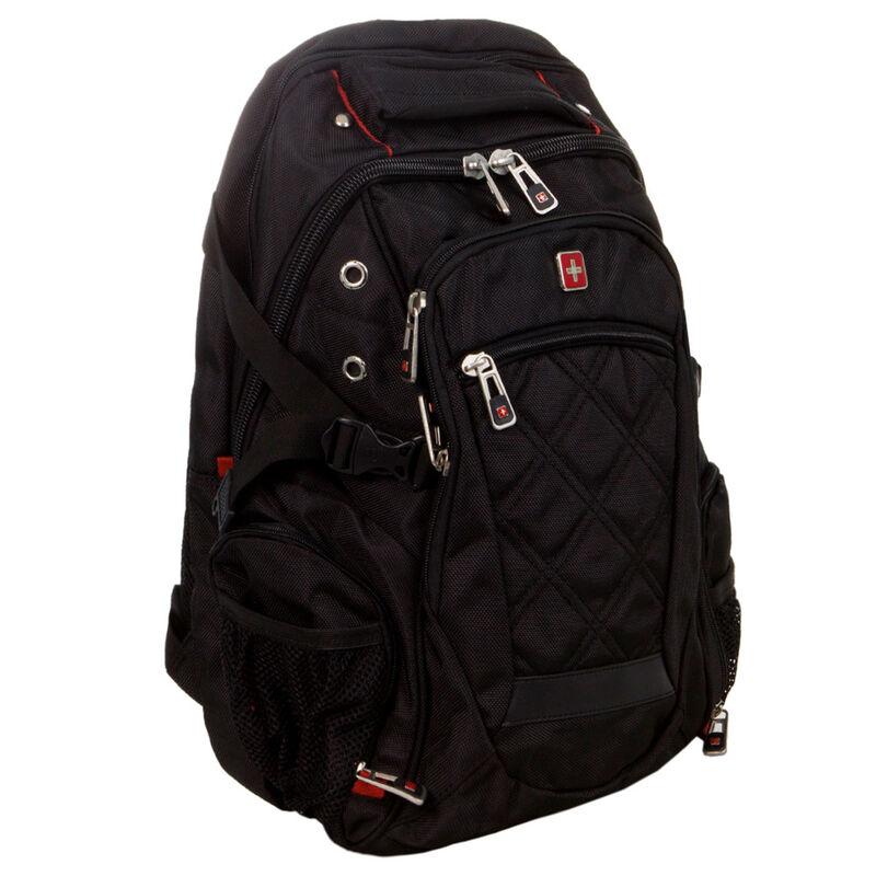 Магазин сумок SwissGear Рюкзак мужской черный 205-983013 - фото 1