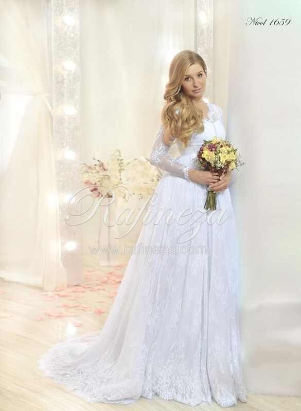 Свадебное платье напрокат Rafineza Свадебное платье Nikol - фото 1
