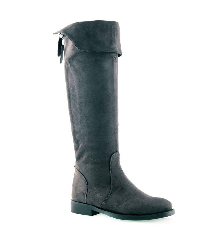 Обувь женская Laura Biagiotti Сапоги женские 5952 серые - фото 3