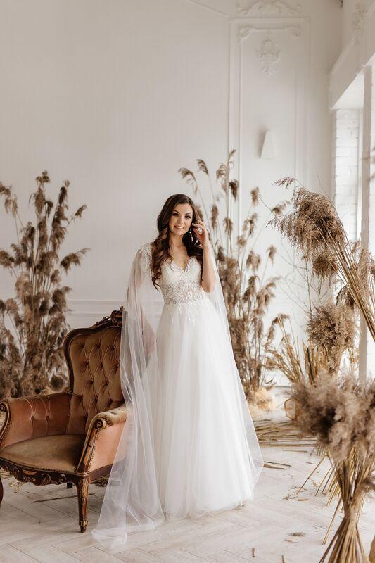 Свадебный салон ALIZA свадебное платье Nikka - фото 1