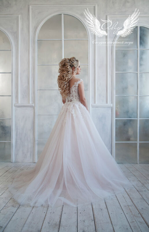 Свадебный салон ALIZA Платье свадебное «Lyuchiya» Soffito - фото 2