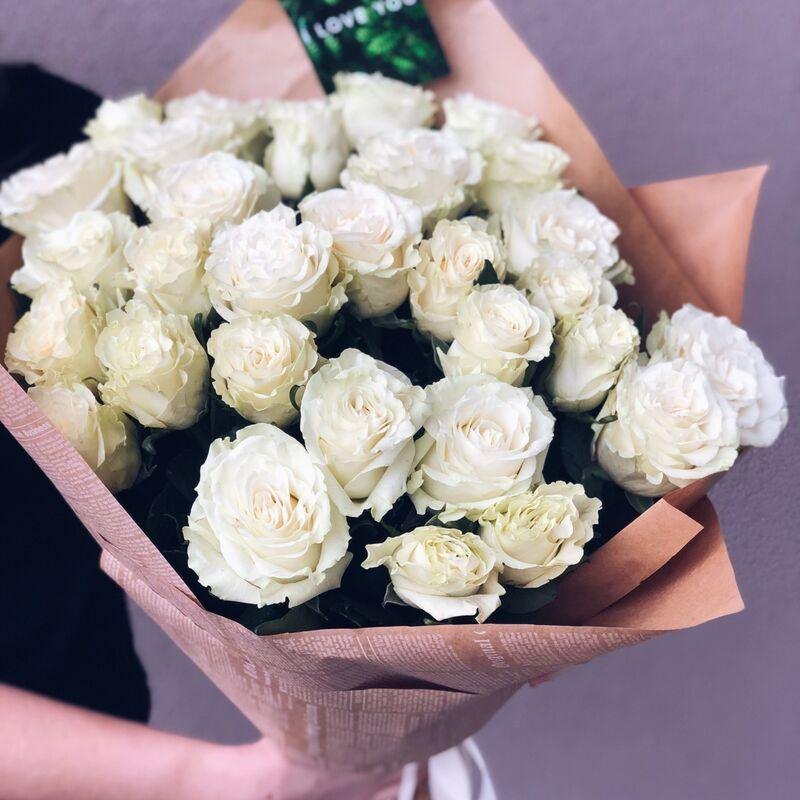 Магазин цветов Кошык кветак Букет классический №1 - фото 1