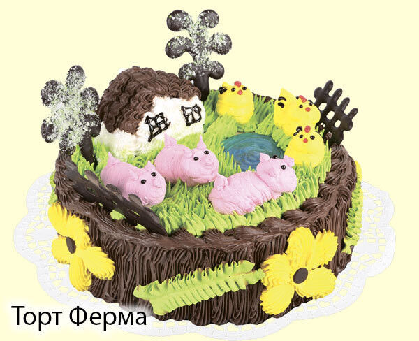 Торт Tortas Торт «Ферма» - фото 1