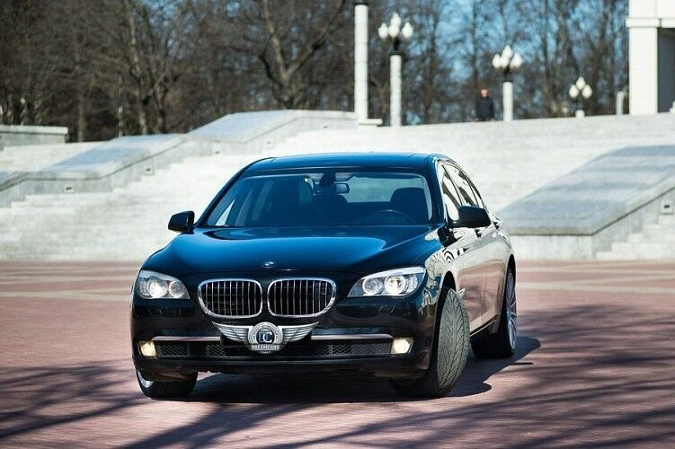 Прокат авто BMW F02 7 series черного цвета - фото 6