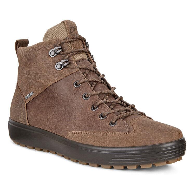 Обувь мужская ECCO Кеды высокие SOFT 7 TRED 450114/55778 - фото 1