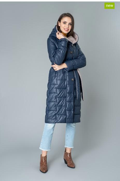 Верхняя одежда женская Elema Пальто женское плащевое утепленное 5-9278-1 - фото 1