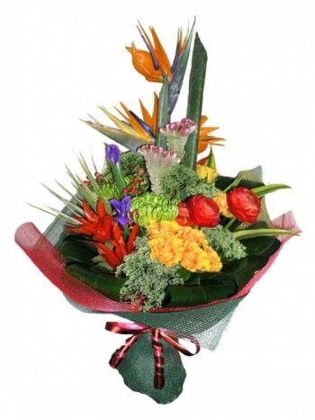 Магазин цветов Ветка сакуры Мужской букет №31 - фото 1