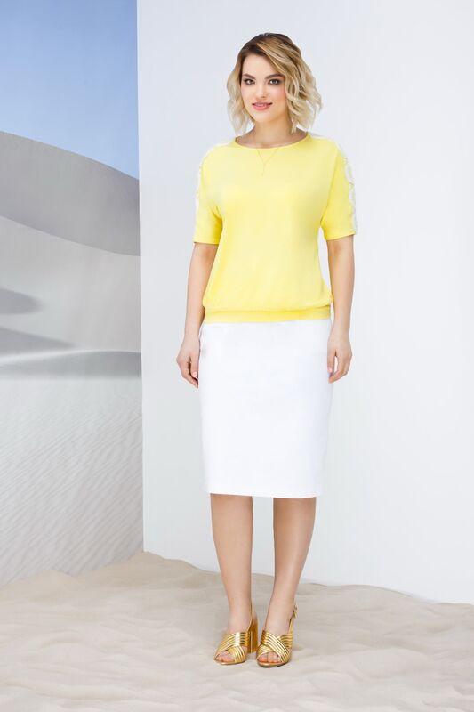 Кофта, блузка, футболка женская Elema Блузка женская Т-7445 - фото 1