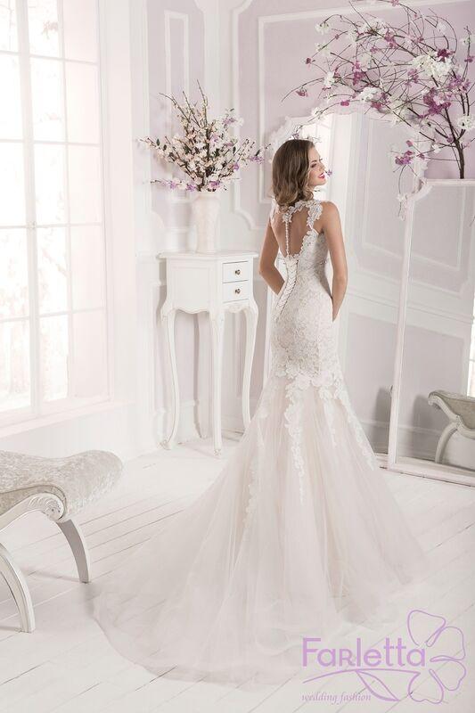 Свадебное платье напрокат Farletta Платье свадебное Orhid - фото 2