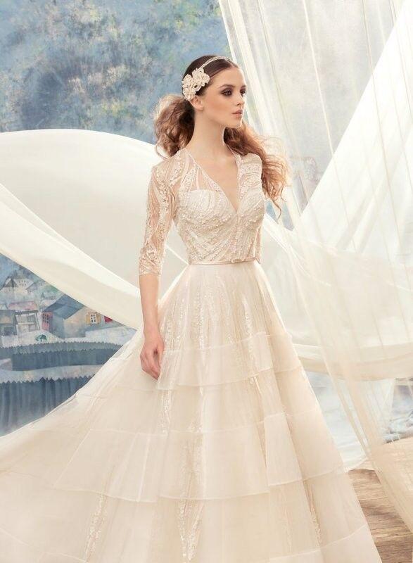 Свадебный салон Papilio Свадебное платье «Свиристель» 1720L - фото 3