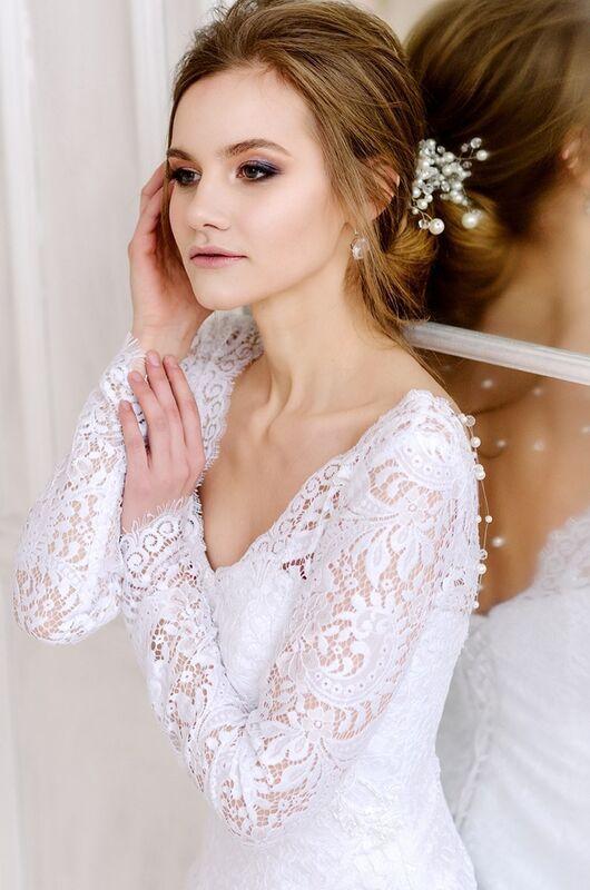 Свадебное платье напрокат ALIZA Свадебное платье «Mishel» Diva Vivien - фото 4
