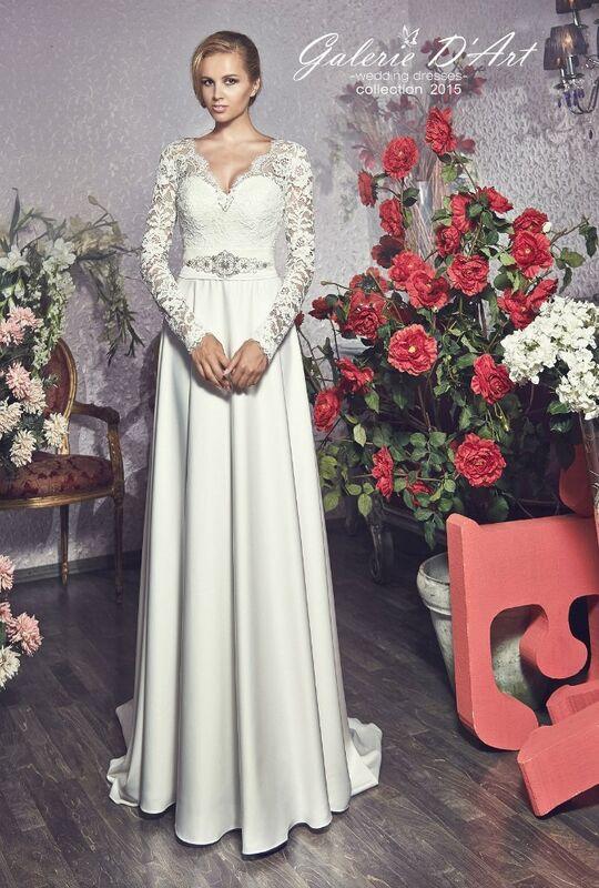 Свадебное платье напрокат Galerie d'Art Платье свадебное «Sara» из коллекции BESTSELLERS - фото 1