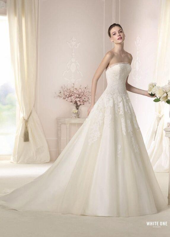 Свадебное платье напрокат White One (Pronovias) Платье свадебное «Danit» - фото 1