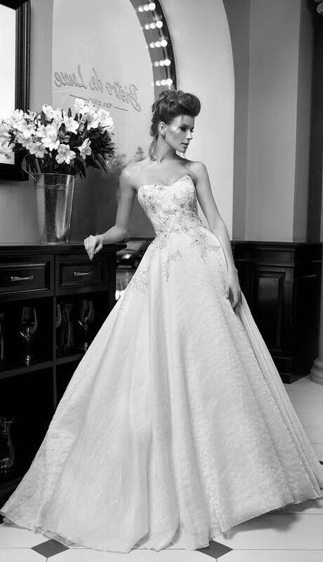Свадебное платье напрокат Edelweis Платье свадебное «Nocturne» - фото 3