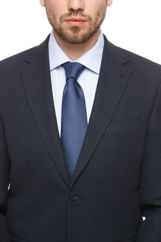 Пиджак, жакет, жилетка мужские HISTORIA Пиджак темно-синий с накладными карманами - фото 2