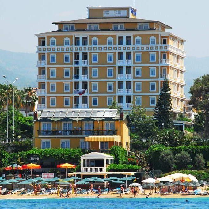 Туристическое агентство Суперформация Пляжный авиатур в Турцию, Аланья, Antik Hotel & Garden 4* - фото 1