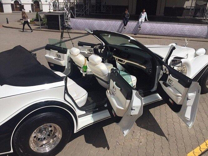 Прокат авто Excalibur Белый - фото 7