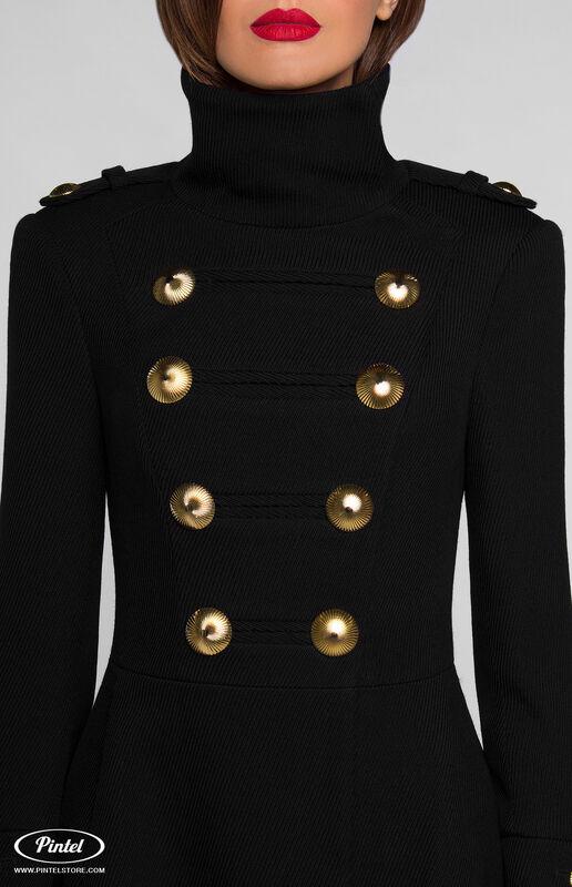 Верхняя одежда женская Pintel™ Двубортное приталенное пальто SHANICE - фото 2