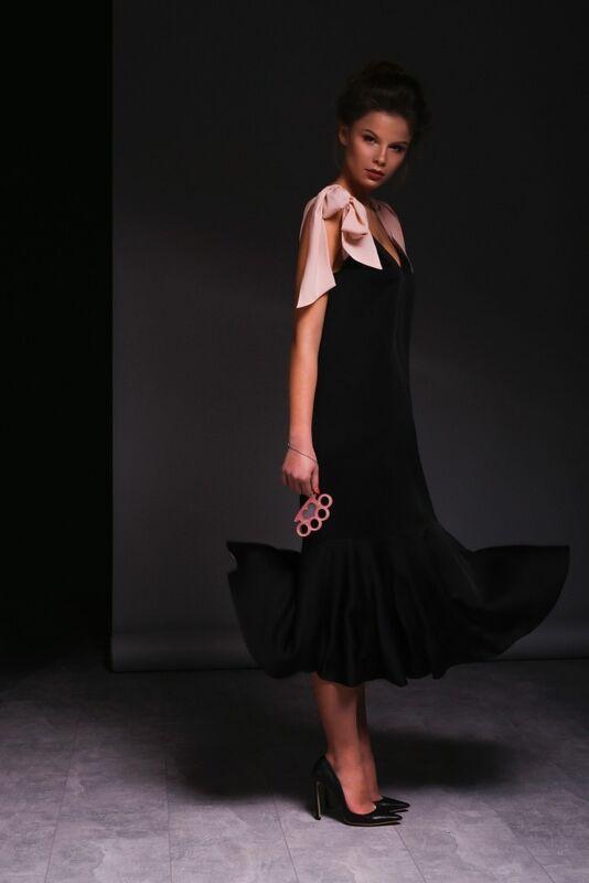 Платье женское IVAN AIPLATOV Платье с бантами - фото 1
