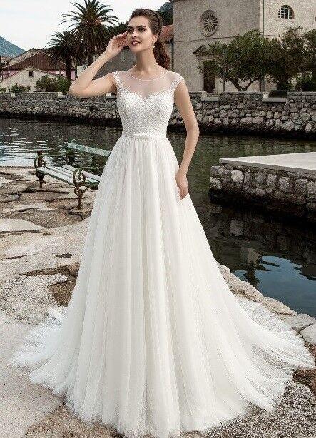 Свадебное платье напрокат Lussano Bridal Платье свадебное 16008 - фото 1
