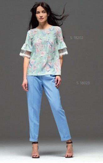 Кофта, блузка, футболка женская Mozart Блузка S-18202 - фото 1