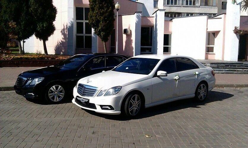 Прокат авто Mercedes-Benz E class W212 White R - фото 3