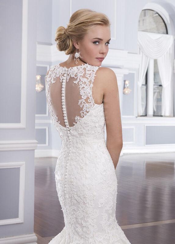 Свадебное платье напрокат Lillian West Платье свадебное «Assolle» - фото 3