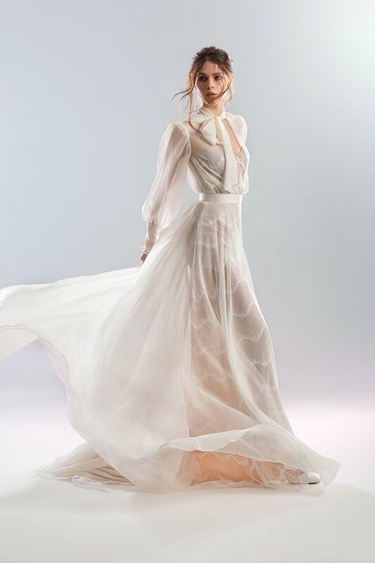 Свадебный салон Papilio Свадебное платье «Белый ветер» - фото 1