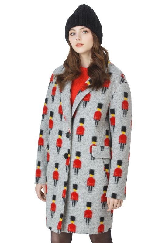 Верхняя одежда женская Elema Пальто женское демисезонное Т-61463 - фото 1