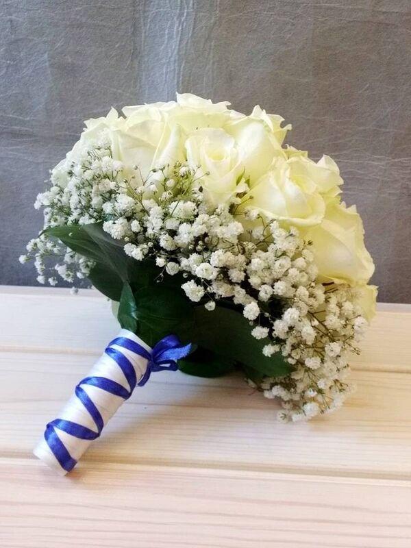 Магазин цветов VGosti.by Свадебный букет «Первая любовь» - фото 5