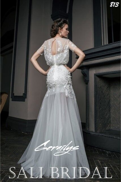 Свадебный салон Sali Bridal Свадебное платье 813 sali bridal - фото 3