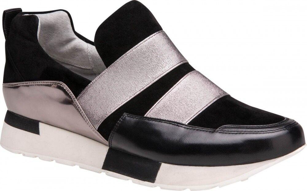 Обувь женская Ekonika 2 Полуботинки женские 1457-03 black, nikel - фото 1