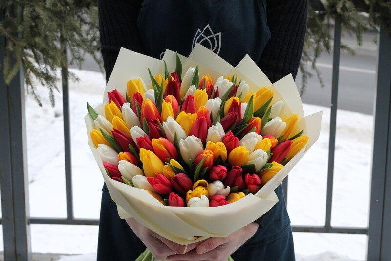 Магазин цветов Cvetok.by Букет «Тёплая весна» - фото 2