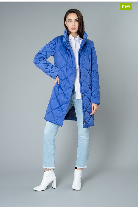 Верхняя одежда женская Elema Пальто женское плащевое утепленное 5-9043-1 - фото 1