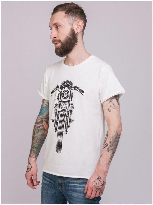 Кофта, рубашка, футболка мужская Medooza Футболка «Bike» SKU0090000 - фото 2