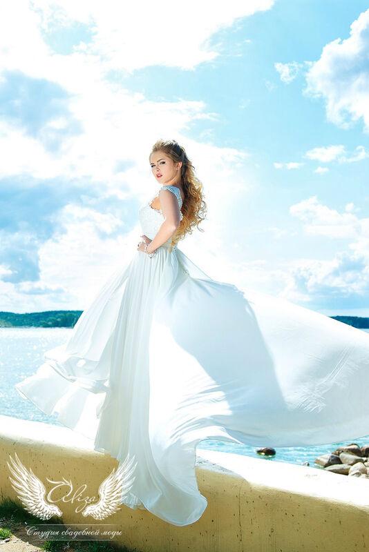 Свадебное платье напрокат ALIZA Свадебное платье «Lizi» Ameli Benya - фото 1