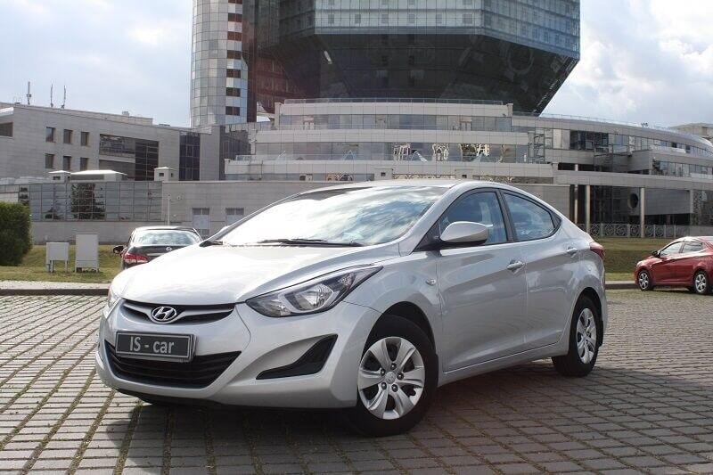 Аренда авто Hyundai Elantra 2014 г.в. - фото 1