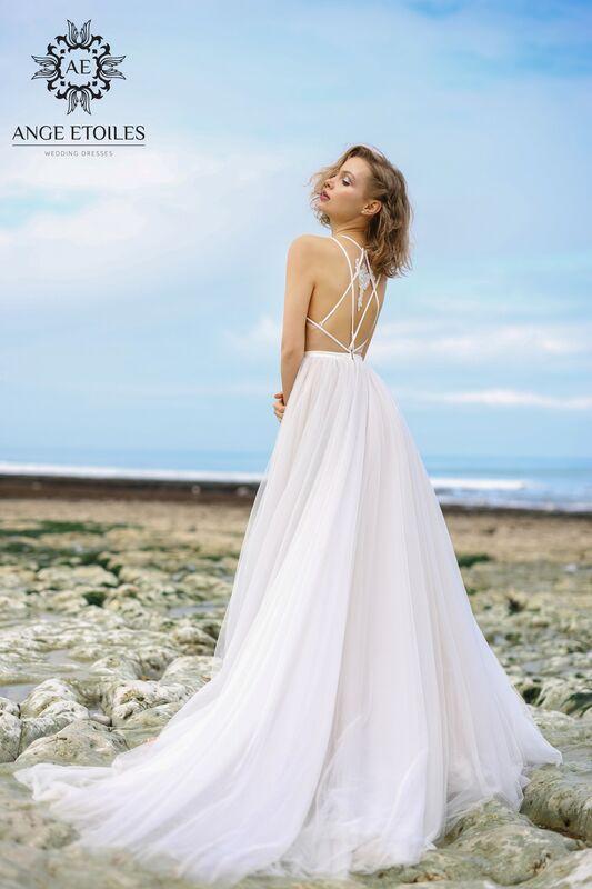 Свадебный салон Ange Etoiles Свадебное платье AEriality Collection Tea - фото 2