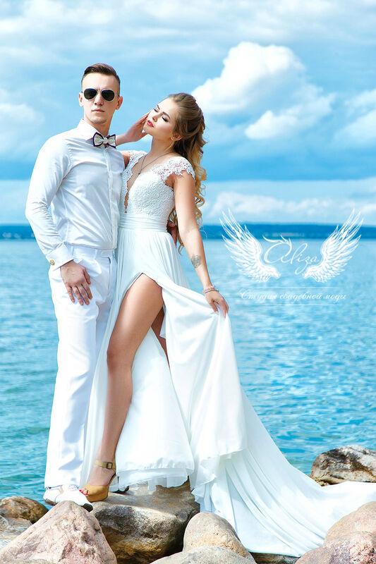 Свадебное платье напрокат ALIZA Свадебное платье «Lizi» Ameli Benya - фото 3