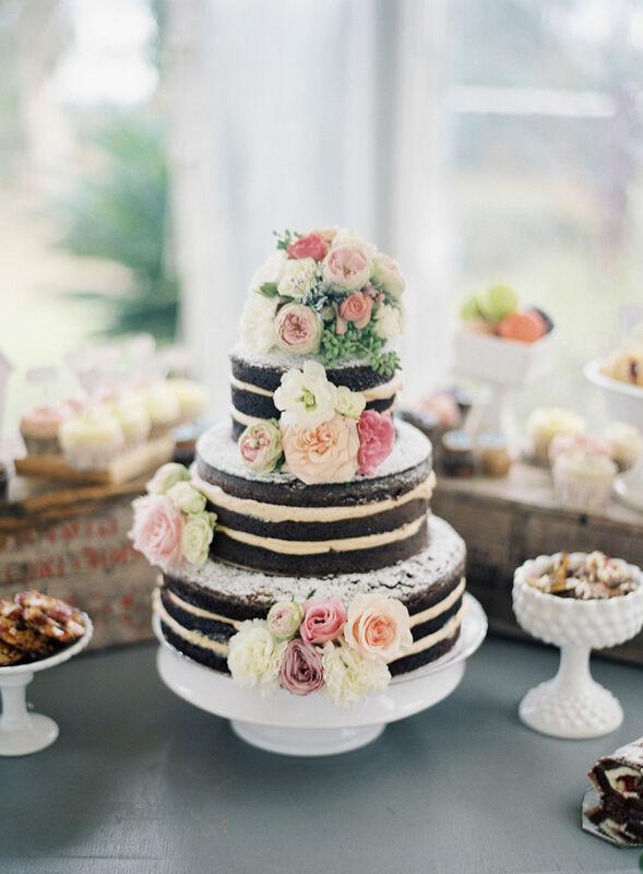 Торт DOLCE Свадебный торт «Внутренне согласна» - фото 1