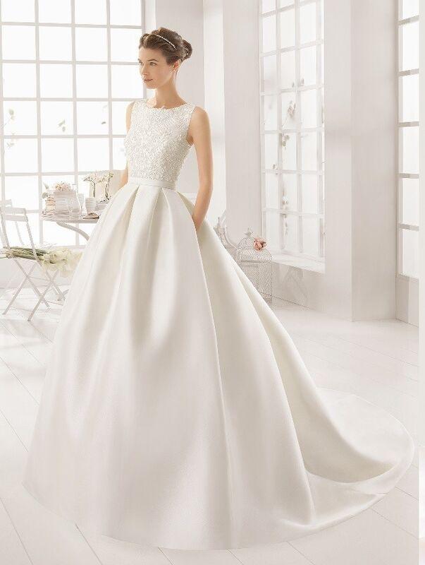 Свадебное платье напрокат Rosa Clara Платье свадебное Arcilla - фото 1