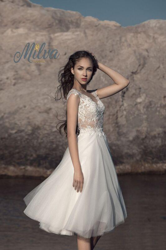 Свадебное платье напрокат Milva Платье свадебное Bruna - фото 3