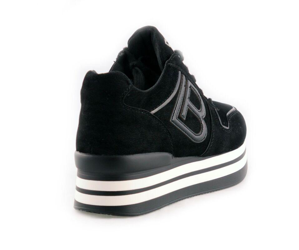 Обувь женская Laura Biagiotti Ботинки женские 5709 черные - фото 2