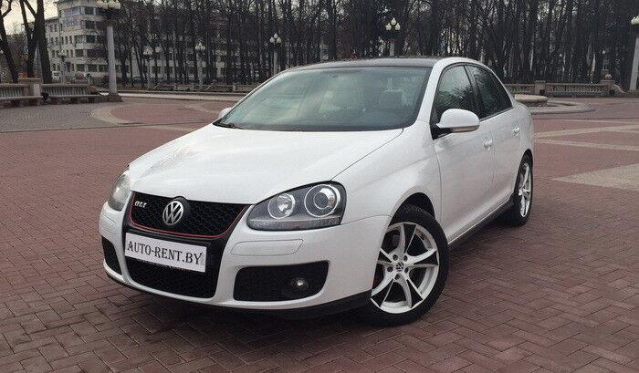 Аренда авто Volkswagen Jetta White - фото 1