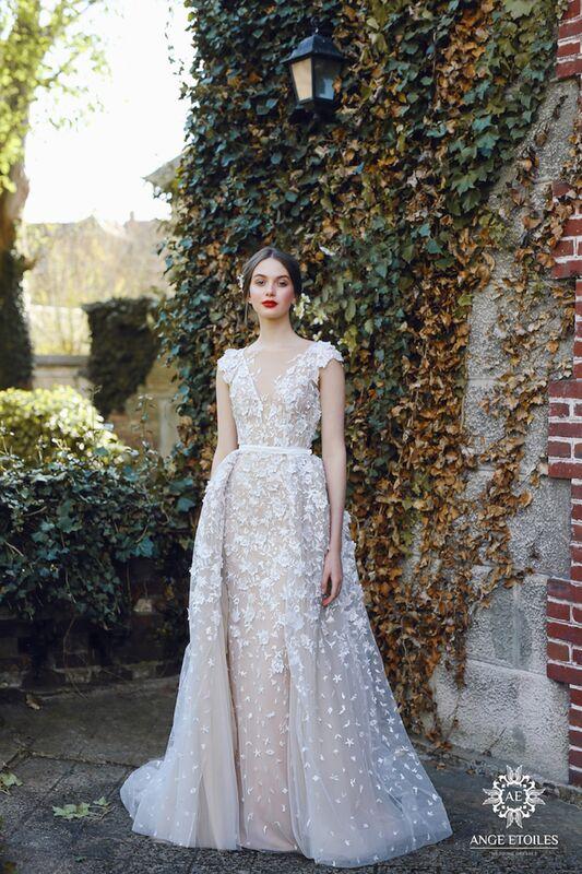 Свадебный салон Ange Etoiles Свадебное платье AEriality Collection Velari - фото 1