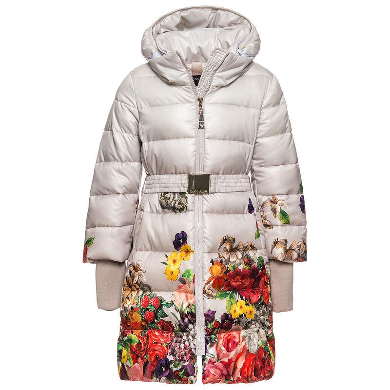 Верхняя одежда детская Monnalisa Пальто для девочки 190104 0009 0084 - фото 1