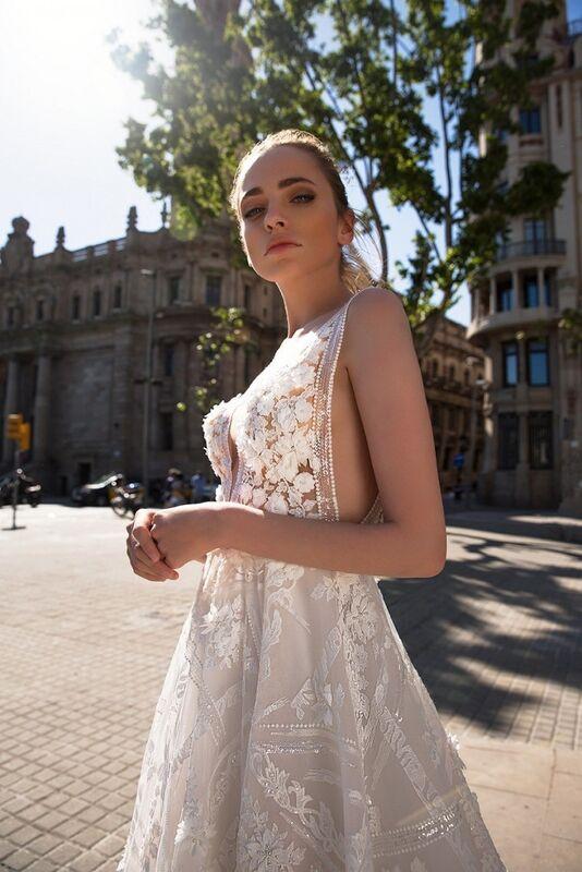 Свадебный салон Ida Torez Свадебное платье Rambla - фото 3