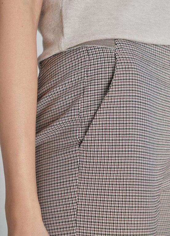 Брюки женские O'STIN Брюки из поливискозы с эластичным поясом LP6X41-T5 - фото 4