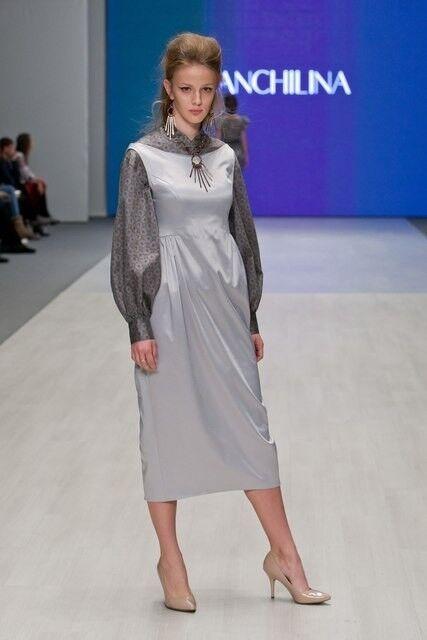 Белорусский дизайнер YANCHILINA Платье 1310 - фото 2