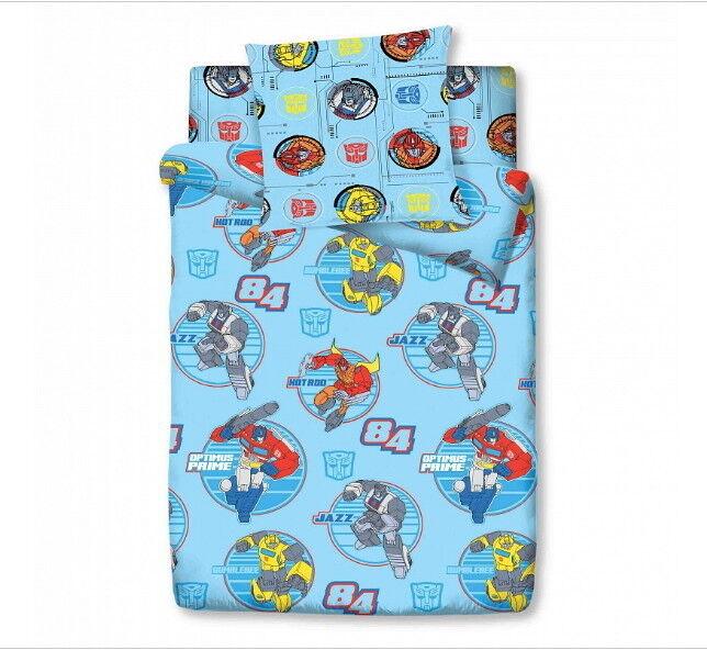Подарок Торговый дом С Текстиль Детский комплект белья 1.5 сп. Трансформеры - Classic 4092-1 - фото 1
